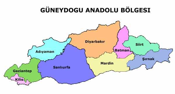 Güneydoğu Anadolu